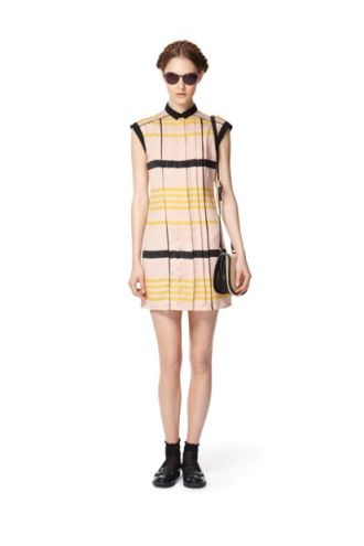 Jason-Wu-Target-Black-Yellow-Striped-Dress