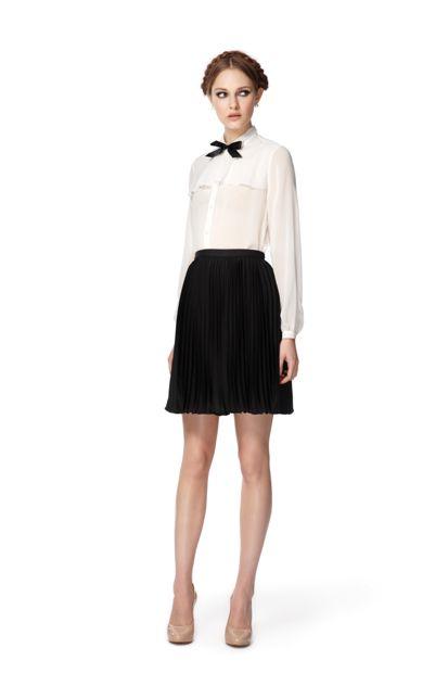 b9c530e3b8 Jason-Wu-Target-White-Blouse-Black-Skirt   Hawaii Fashion Fiend