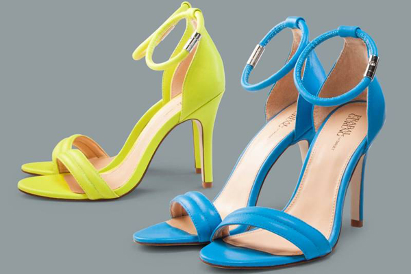 prabal-gurung-target-ankle-strap-heels-yellow-blue | Hawaii