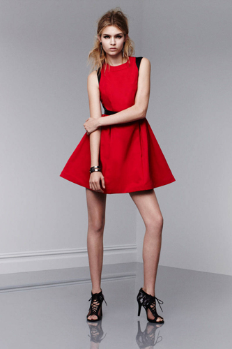 prabal-gurung-target-full-skirt-red-dress